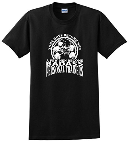 Created Equal, A Few Men Become Personal Trainers T-Shirt XL Black