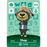 Shep - Nintendo Animal Crossing Happy Home Designer Series 4 Amiibo Card - 332