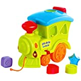 Little's Pull Along Musical Train, Multi Color