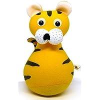 Funny Jingle Tumbler Tiger Plush Animal Doll Toy