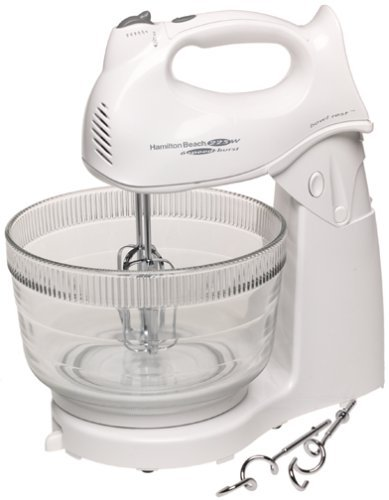 "Hamilton Beach Power Deluxeâ""¢ Hand/Stand Mixer front-256334"