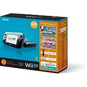 Wii U すぐに遊べるファミリープレミアムセット(クロ) 【メーカー生産終了】