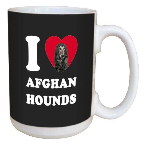 Afghan hound merchandise - coffee mug