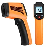 Non-Contact Digital Infrared Thermometer,Instant-Read Tempreture Gun with Laser and LCD Backlit For Object Surface Measurement