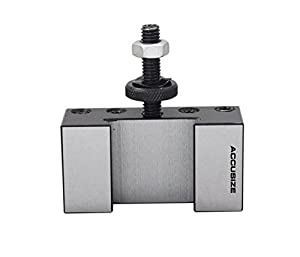 Accusize Industrial Tools Style Oxa Turinng and Facing Quick Change Tool Post Holder, 0250-0001 (Tamaño: OXA, 1/2)