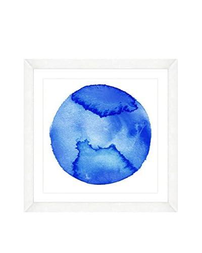 Art Source Watercolor Circle Print V, Multi, 22 x 22