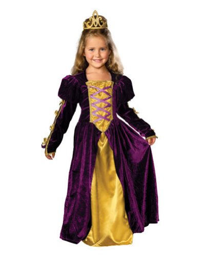 girls - Regal Queen Child Sm Halloween Costume - Child Small