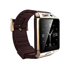 VIGICA Steel Bluetooth Smartwatch Wrist Wrap Watch Phone Mate 1.5 inch 2.0M Camera Support SIM Card