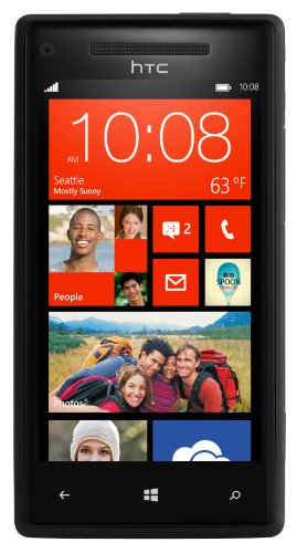 HTC 8X Windows Phone 8 UK Sim Free Smartphone - Black