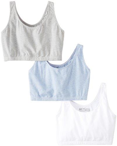 fruit-of-the-loom-womensbuilt-up-sportsbra-grey-heather-white-blue-heather-size-40pack-of-3
