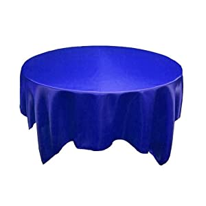 "72x72"" Square SATIN Table Overlays Linens - 27 colors!"