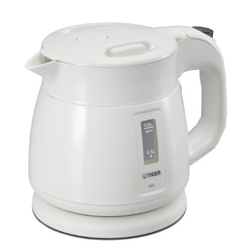 Tiger Electric Kettle Frame Child (0.6L) White Pcf-A060-W By Tiger