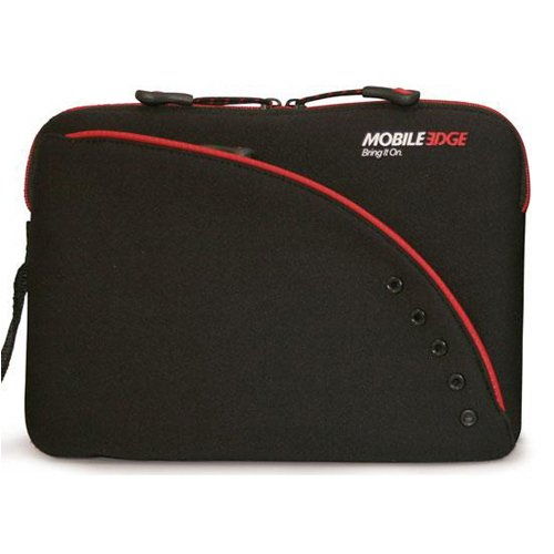 Perfidious & Red Neoprene Netbook 8.9 Laptop Sleeve Crate - Asus EEE PC - Acer Aspire One - Panasonic Toughbook - NEC Mobilepro 900 - Vaio CI PictureBook - 8.9 Netbook Computers and Smaller