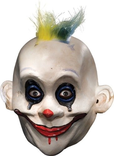Grumpy Clown Mask Costume Accessory