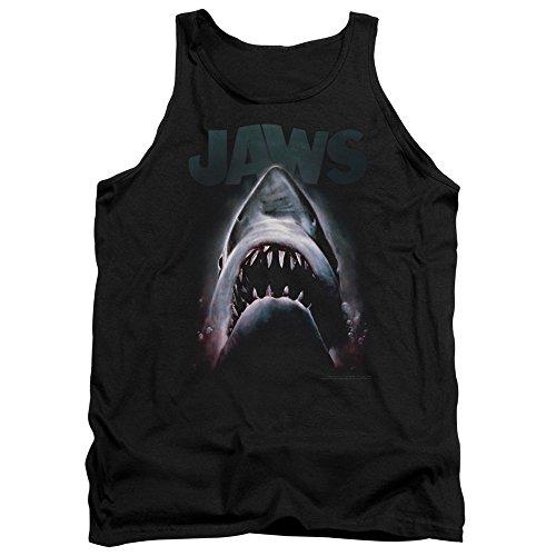 Jaws Shark Thriller Movie Spielberg Terror In The Deep Adult Tank Top Shirt
