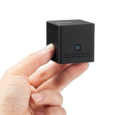 Anker Pocket Bluetooth Lautsprecher - Ultra Tragbarer Wireless Speaker mit 12 Stunden Spielzeit, NFC Kompatibilität in kompakter Würfelform (Schwarz)
