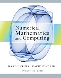 Student Solutions Manual for Cheney/Kincaid's Numerical