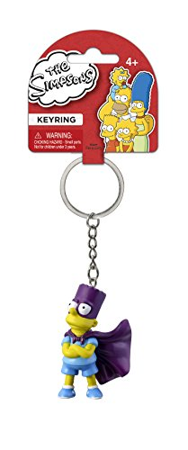Fox The Simpsons Bart 3D PVC Key Ring