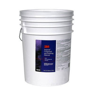 3M 06046 Imperial Compound and Finishing Material Pail - 5 Gallon