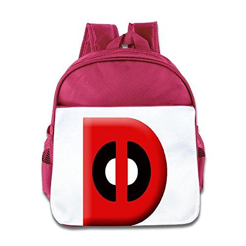 [Logog 8 Creative Super D Letter Cute Baby Boys Girls Tollder School Hiking Backpacks Bags Pink] (Infant Sylvester Costumes)
