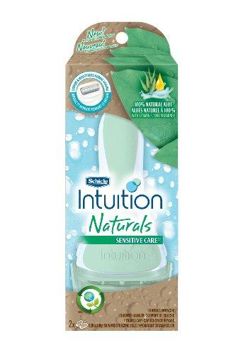 Schick Intuition Naturals Sensitive Care Razor