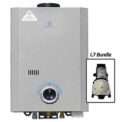 Eccotemp Systems L7 Pump Bundle L7 Tankless Water Heater with Flojet Pump
