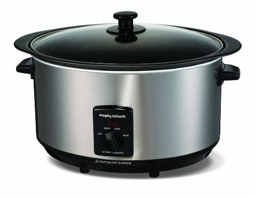 morphy-richards-accents-48705-sear-and-stew-slow-cooker-65-litres-brushed
