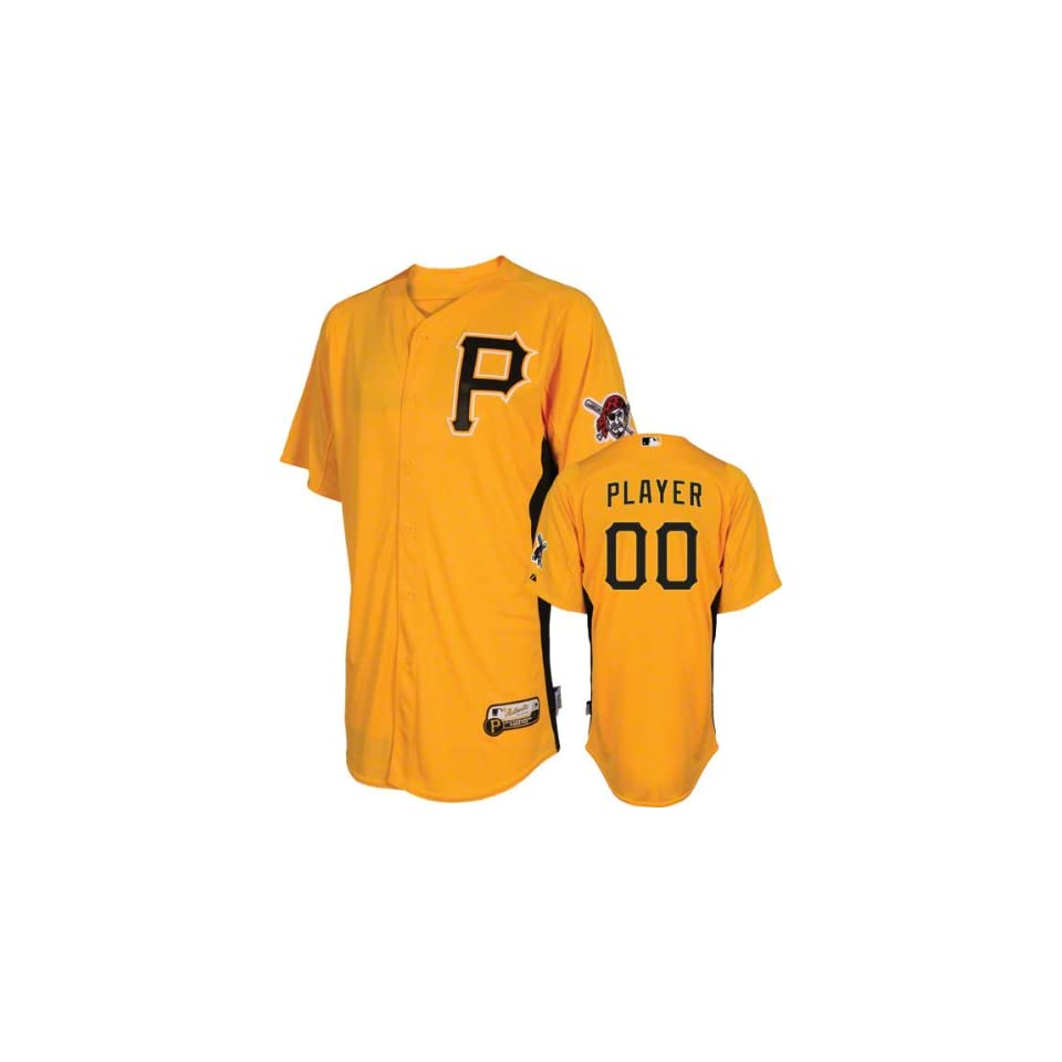 huge selection of 26716 cd0c7 Pittsburgh Pirates Jersey Any Player Authentic Gold On Field ...