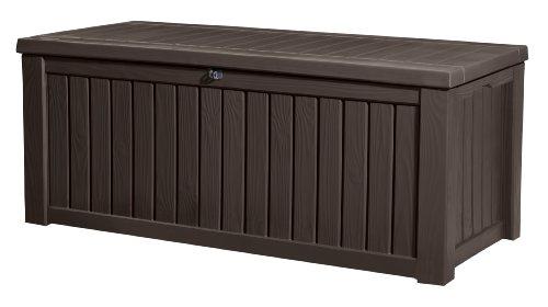 Keter-Kissenbox-Rockwood-Braun-570L