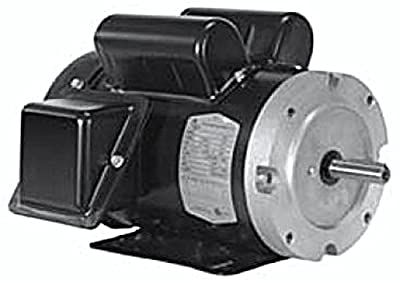 1-1/2HP 3600RPM 56CFR 1PH TEFC North American (F56C1.5S2C) Electric Motor