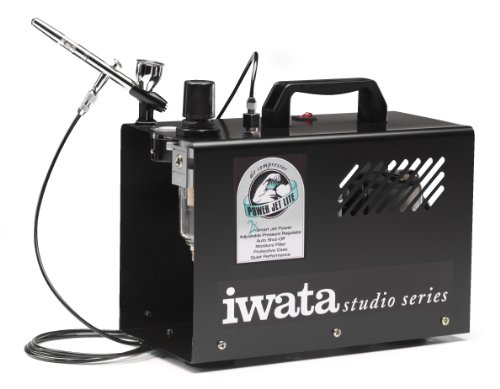 Iwata-Medea Studio Series Power Jet Lite Double Piston Air Compressor [Toy]