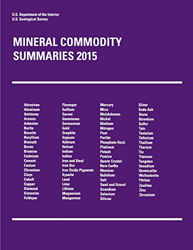 Mineral Commodity Summaries 2015