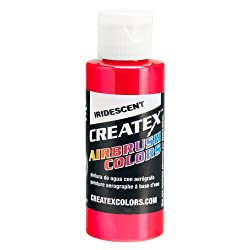 4 oz. Bottle of Createx Iridescent Red #5501 CREATEX AIRBRUSH COLORS Hobby Craft Art PAINT
