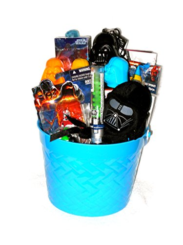 Star Wars Gift Basket with Darth Vader Plush & More Great for Christmas, Easter, or Birthday