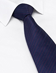 Autograph Pure Silk Striped Tie