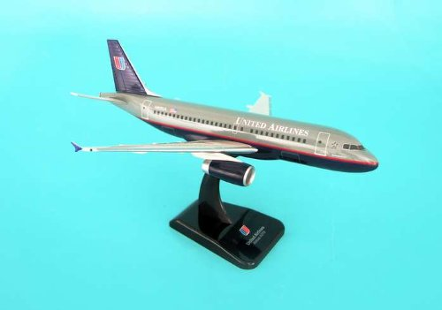Hogan United A319 W/ Gear High Quality Model Desktop Airplane Display