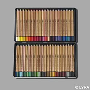 LYRA Aquarelle Pencils in Metal Case (72 colors)