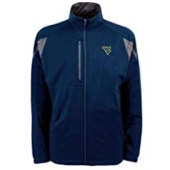 West Virginia Highland Water Resistant Jacket by Antigua