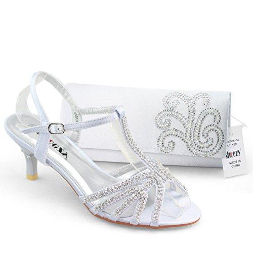Silver Wedding Shoes 3 Good SHOEZY Low Heels Wedding