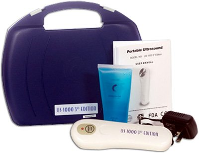 Portable Ultrasound Unit, 3rd Edition (Model US-1000) - 1 ea