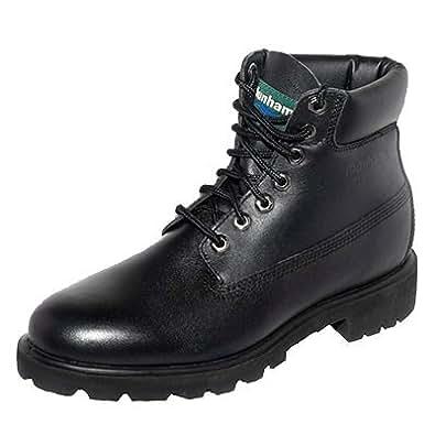 Dunham by New Balance Yukon 7766 Mens Waterproof, EH Work Boot (US Men 12-3E, Black)