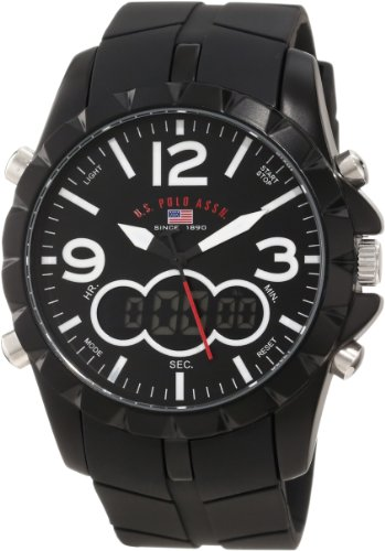 U.S. Polo Assn. Sport Men's US9235 Black Analog