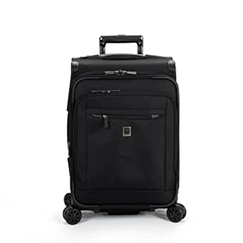Delsey Luggage Helium X'Pert Lite 2.0 Expandable Spinner Suiter Trolley, Black, One Size