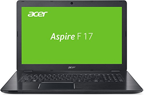 Acer Aspire F 17 (F5-771G-54C5) 43,9 cm (17,3 Zoll Full HD) Notebook (Intel Core i5-7200U, 8GB RAM, 1000GB HDD, 128GB SSD, Nvidia GeForce GTX 950M, DVD, Win 10 Home) schwarz