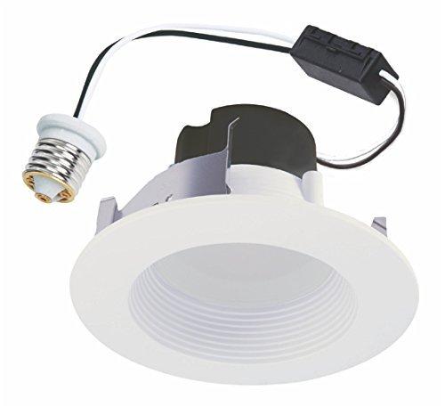 Halo RL460WH927PK LED Downlight Kit, 4 LED Recessed Retrofit Module w/Trim, 2700K 90 CRI - White Model: RL460WH927PK (Halo Rl4 Series Led Modules compare prices)