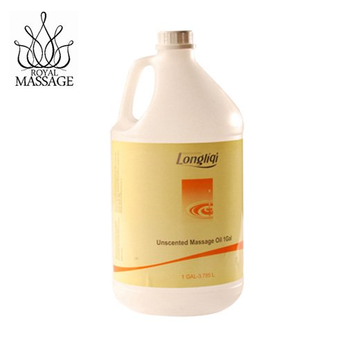 Royal Massage Longliqi Unscented Massage Oil - Gallon