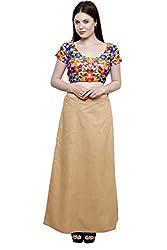 Pistaa Women's Cotton Skin Colour Best Inskirt Saree petticoats