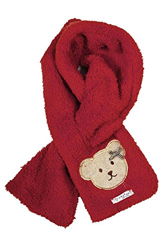 Simplicity Toddler's Wool Scarf for the Winter with Decorative Bear Design