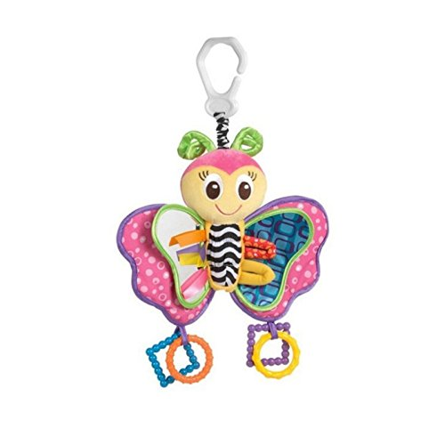 New Baby Playgro Blossom Butterfly My First Activity Toy Baby Hanging Rattle Toy 13'' front-374507