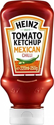 Heinz Tomato Ketchup With Mexican Chilli (250G) front-796464